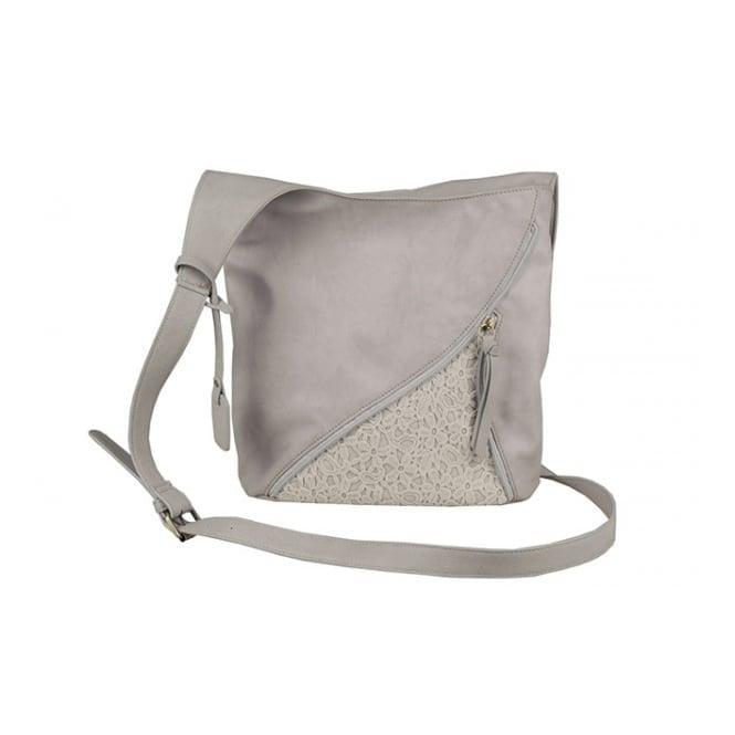 Rieker H1428-40 Grey Crossover Handbag