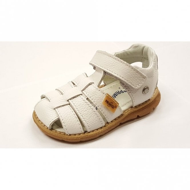Primigi PPD 7078 White Leather Boy's Velcro Sandal