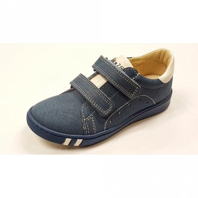 Primigi PHK 7148 Navy Leather Boys Velcro Shoe