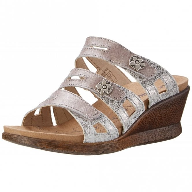Romika Nevis 04 Platinum / Combi Mule Sandal