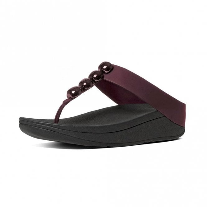 FitFlop Rola Hot Cherry Sandal