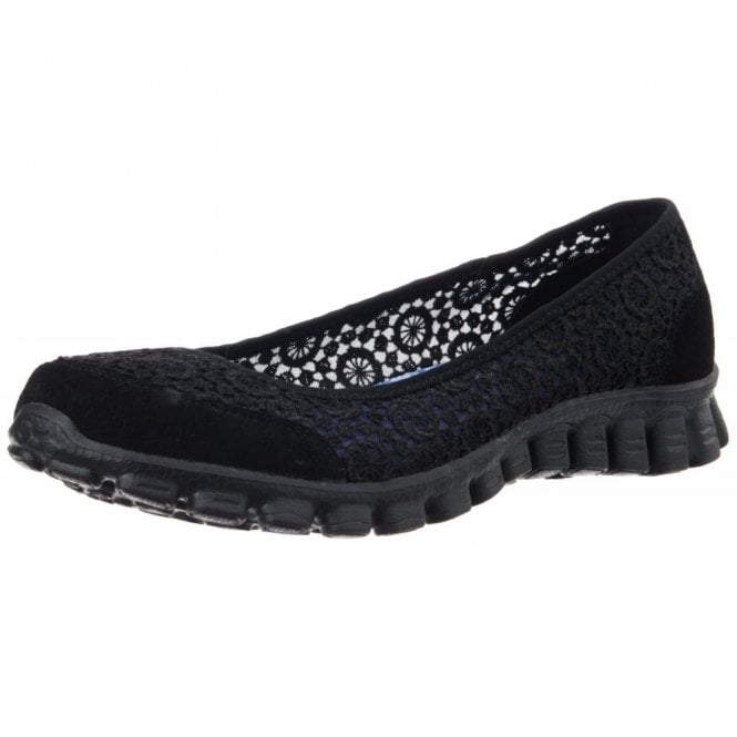 Skechers EZ Flex 3.0 - Majesty Black Pump Trainer