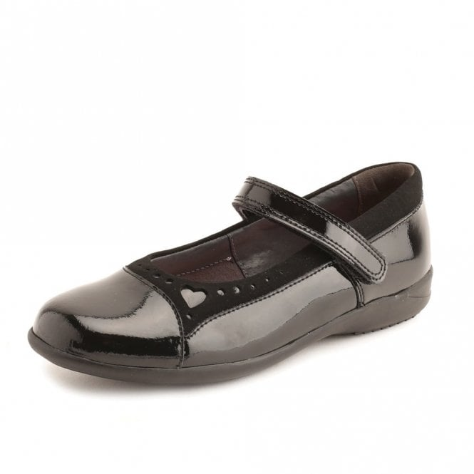 Start-rite Emilia Black Patent Girl's Shoe