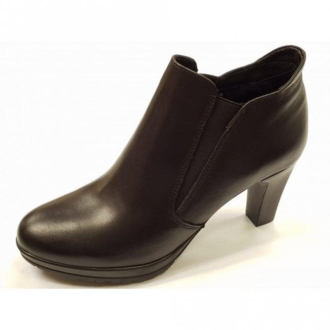 Tamaris 25395-21 Black Leather Shoe Boot
