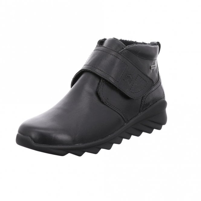 Romika Vegas 01 Black Velcro Waterproof Boot