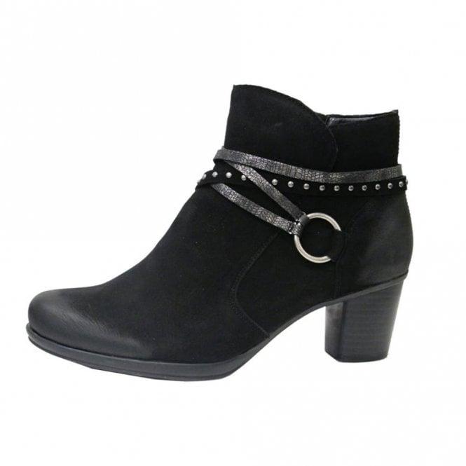 Remonte Dorndorf R1580-02 Black Leather Ankle Boot
