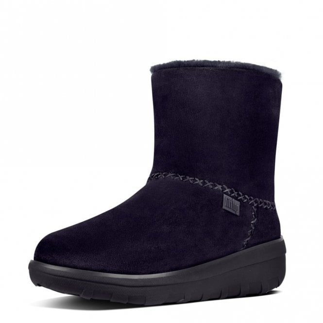 FitFlop Mukluk Shorty 2 Supernavy Suede Boot