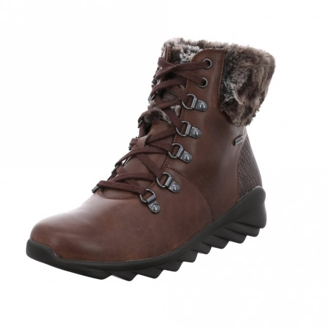Romika Vegas 08 Moro Brown Leather Waterproof Boot