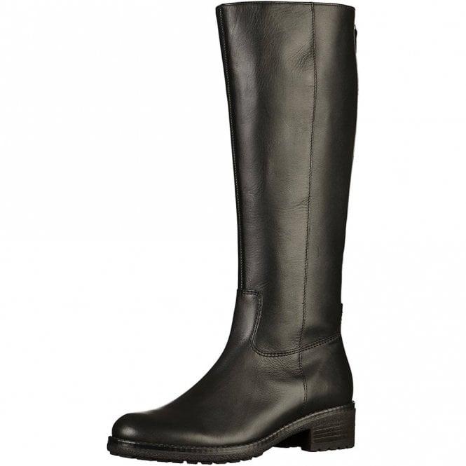 Gabor Palmer 71.615.27 Black Leather Boot