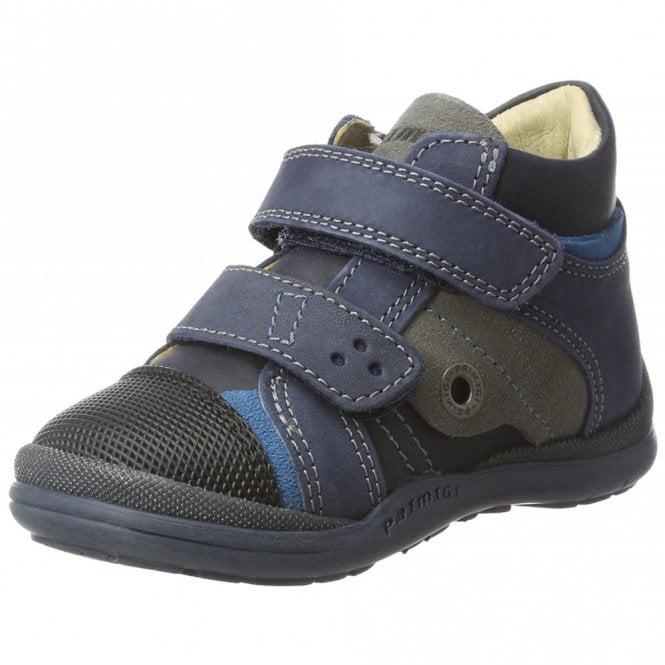 Primigi PEP 8049 Navy Nubuck Leather Boys Boot