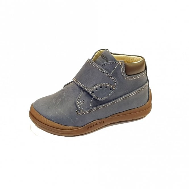 Primigi PEP 8048 Navy Leather Boys Boot