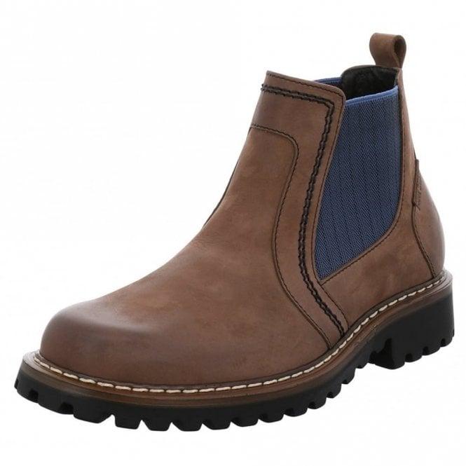Josef Seibel Chance 27 Brown Waxy Leather Boot