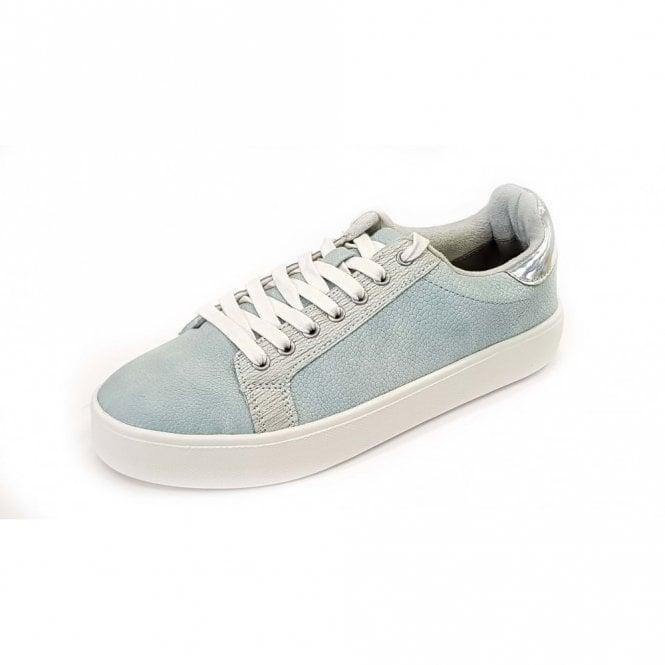 Tamaris 23724-20 Sky Blue Casual Lace Up Shoe