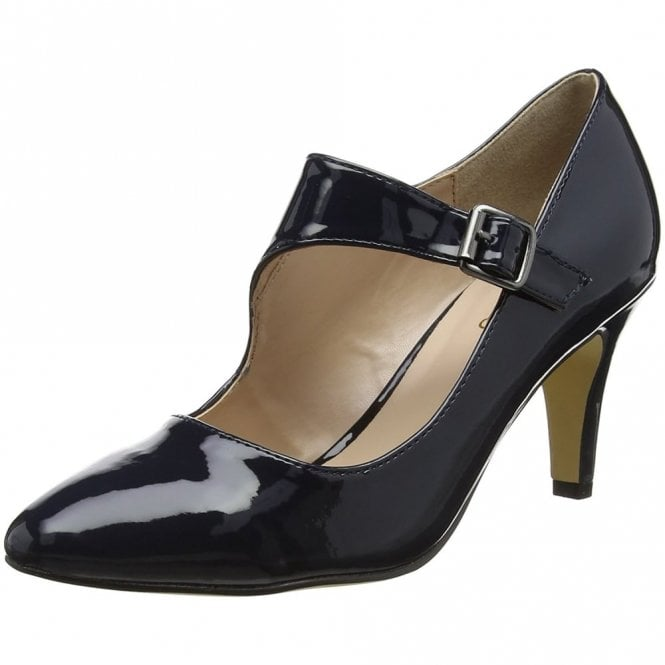 Lotus Laurana Navy Patent Court Shoe
