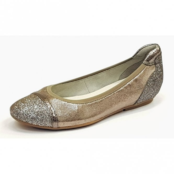 Tamaris 22139-20 Pepper Combo Synthetic Snake with Glitzy Toe Pump