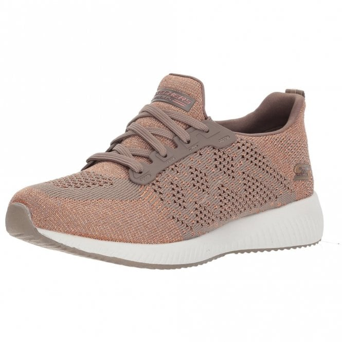 Skechers BOBS Sport - Hot Spark Taupe Canvas