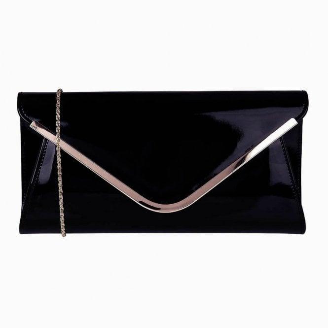 Lotus Sommerton Navy Shiny Clutch Bag