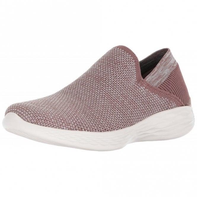 Skechers YOU - Rise Mauve Fabric Training Shoes