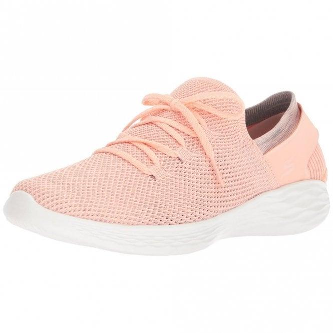 Skechers YOU - Spirit Peach Fabric Training Shoes
