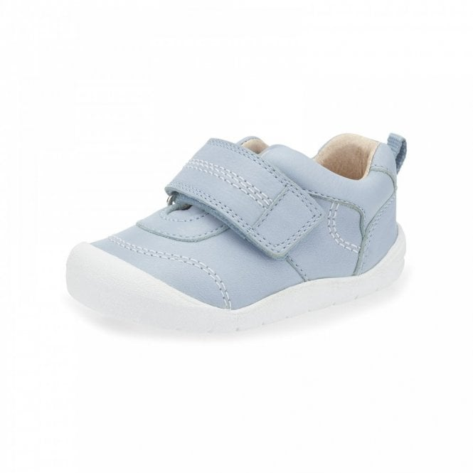 Start-rite First Zak Blue Leather Boys Shoe