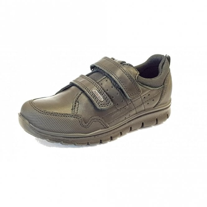 Primigi PHLGT 23890 Waterproof Black Leather Boys School Shoe