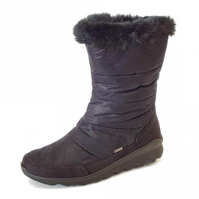 Romika Vegas 16 Black Waterproof Boot