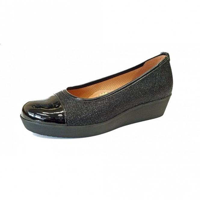 Gabor Orient 96.471.17 Black Patent Pump Shoe