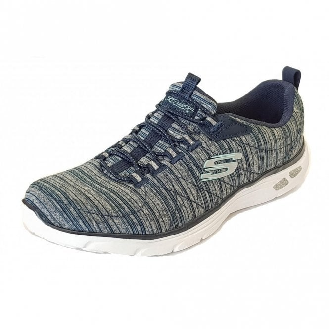 Skechers Relaxed Fit: Empire D'Lux Navy Fabric