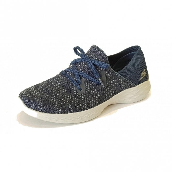 Skechers YOU - Prominence Navy Fabric Training Shoes