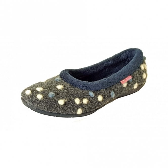 Lunar Bubbly KLM025 Blue Pump Slipper