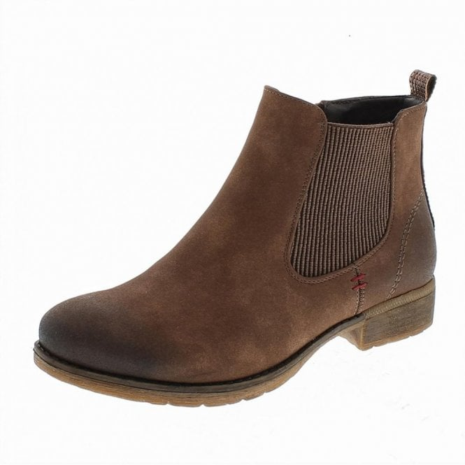 Romika Wendy 04 Brown Chelsea Ankle Boot