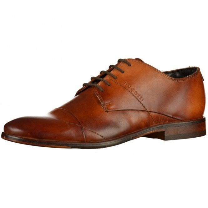 Bugatti Lando 311-29404 Brown Leather Lace Up Shoe
