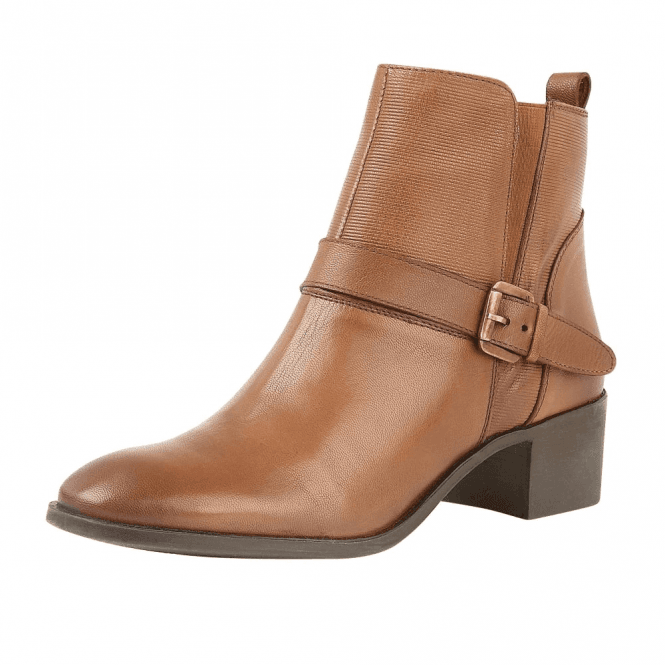 Lotus Indus Leather Heeled Ankle Boots