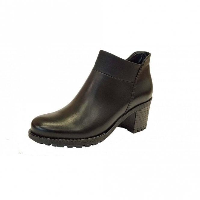Jenny 67361-71 Black Ladies Ankle Boot