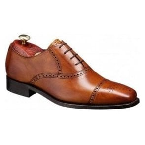 Flynn Cedar Leather Lace up Shoe