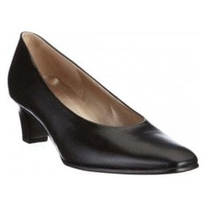 Competition 55.180.37 Black Leather Court Shoe