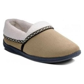 Mellow Camel Micro Suede Slipper