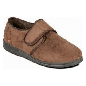 Charles Brown Micro Suede Slipper