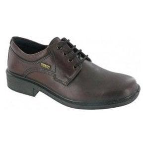 Sudeley Brown Leather Waterproof Lace Shoe