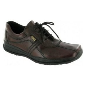 Cam Brown Leather Waterproof Lace Shoe