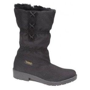 Black Waterproof Inside Zip Boot