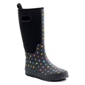 Pixie Black Wellie Boot