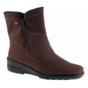 68591-07 Brown Waterproof Winter Boot