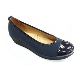 Orient 86.471.86 Navy Patent Pump Shoe