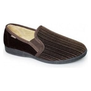 Calder Brown Two Tone Full Slipper