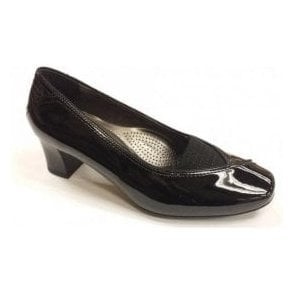 41716-01 Black Patent Shoe