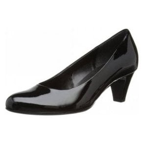 Vesta 2 85.200.77 Black Patent Court Shoe