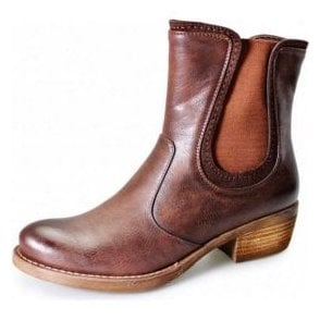 GLC421 Brown Ladies Chelsea Boot