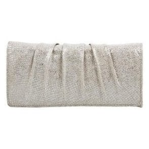 Aloe Taupe Metallic Print Handbag