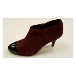 Kari Bordeaux Suede / Patent Shoe-Boots